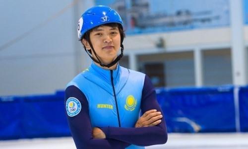 Казахстанец стал третьим на этапе Кубка мира по шорт-треку в Дордрехте
