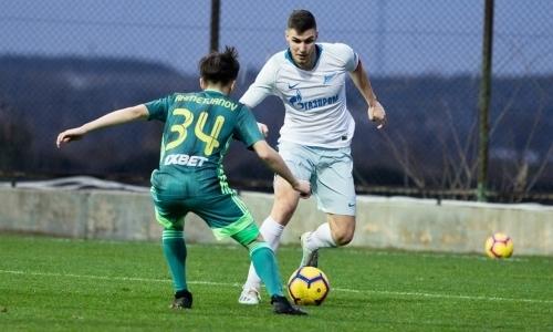 Казахстанский клуб пропустил семь безответных мячей от второй команды «Зенита»