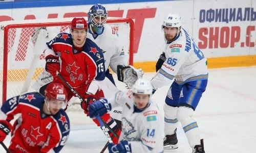 Хоккеист «Барыса» признан лучшим игроком недели КХЛ на своей позиции
