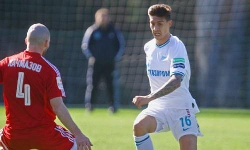 «Зенит» одержал уверенную победу перед матчем с «Кайратом»