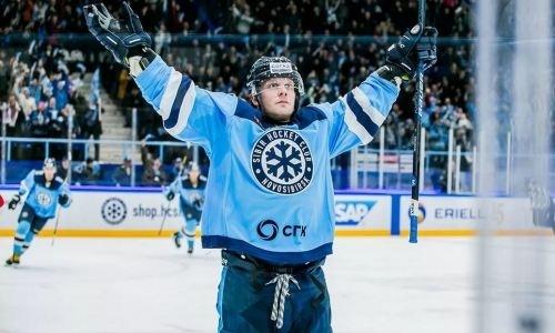 Клуб КХЛ продлил контракт случшим снайпером перед матчем с«Барысом»