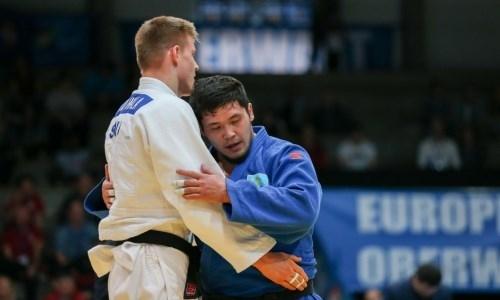 Казахстанские дзюдоисты завоевали две медали на открытом Кубке Европы