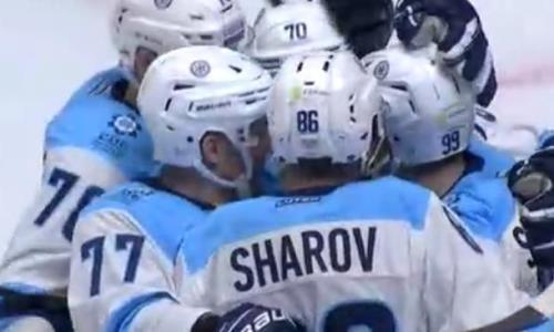 Видео шайб матча КХЛ «Барыс» — «Сибирь» 1:2 ОТ