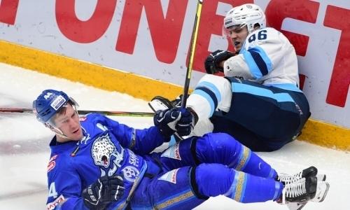 Видеообзор матча КХЛ, или Как «Сибирь» прервала серию побед «Барыс»