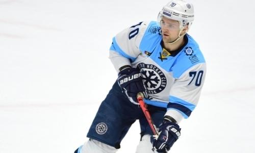 «Вигре нас держал...». Хоккеист «Сибири» назвал главного творца победы над «Барысом»