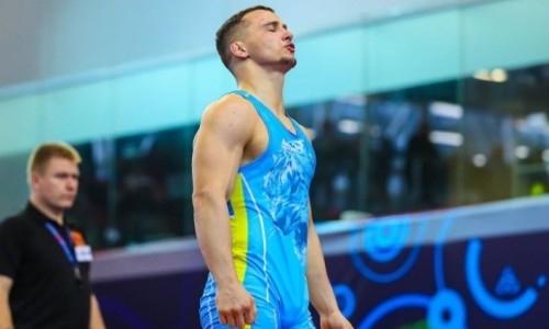 Казахстан завоевал «золото» и три «бронзы» в первый день чемпионата Азии по греко-римской борьбе