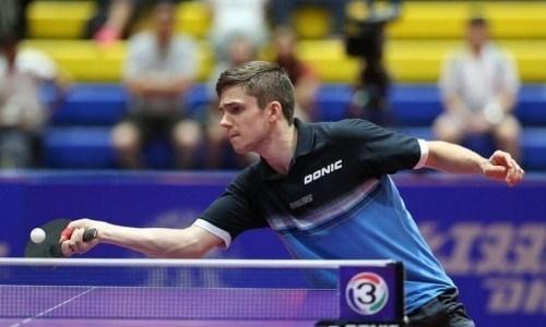 Казахстанец завершил выступление на турнире ITTF по настольному теннису в Венгрии