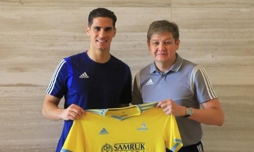 «Астана» объявила о подписании известного форварда. Озвучены детали контракта