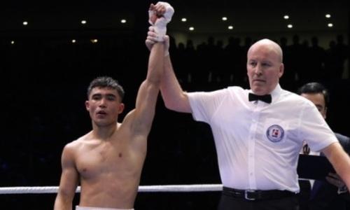 Узбекский обидчик троих казахстанцев с нокаута в первом раунде дебютировал в профи. Видео