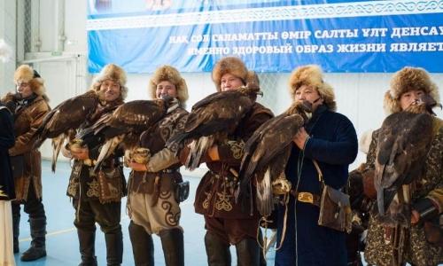 Проходит чемпионат Казахстана по охоте с ловчими птицами в СКО
