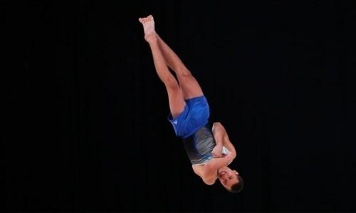 Казахстанец вышел в финал лицензионного этапа Кубка мира по спортивной гимнастике