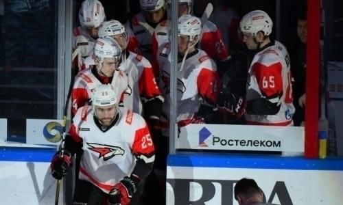 «Барыс» лишили лидерства вдивизионе КХЛ ивторого места вконференции