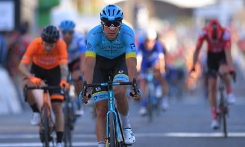 «Ноги работали хорошо». Велогонщик «Астаны» подвел итоги третьего этапа «Тура Алгарве»