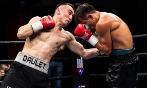 Казахстанский боксер с шестью победами побил украинца у него на родине