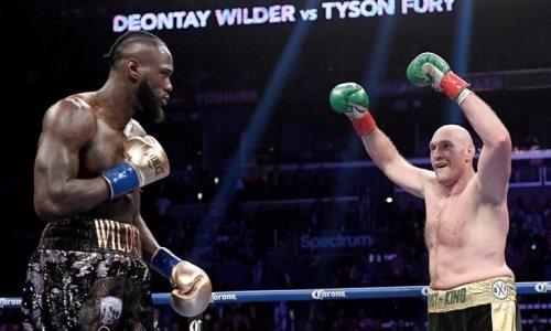 Фьюри неожиданно досрочно уничтожил Уайлдера и отобрал у него титул чемпиона мира WBC