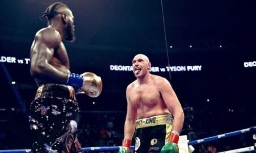 Чемпион UFC бросил вызов Фьюри после победы нокаутом над Уайлдером