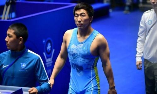 Казахстан завоевал первое «золото» на чемпионате Азии по вольной борьбе