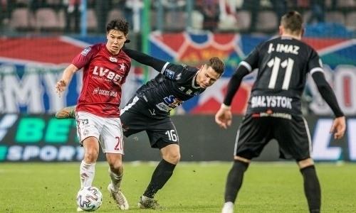 Жуков помог польскому клубу одержать пятую подряд победу вчемпионате