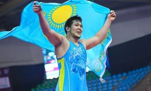Казахстанские борцы-вольники завоевали шесть медалей на чемпионате Азии