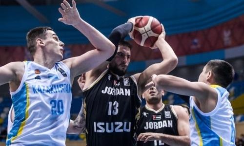 Сборная Казахстана по баскетболу проиграла Иордании в отборе на Кубок Азии-2021. Видео