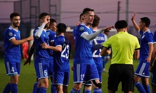 «Тараз» минимально обыграл украинский клуб в товарищеском матче
