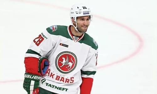 КХЛ дисквалифицировала бывшего лидера «Барыса» за драку. Видео