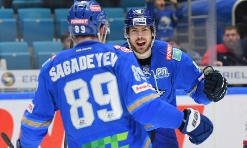 «Барыс» эмоционально отреагировал на победу в дивизионе КХЛ во втором сезоне подряд