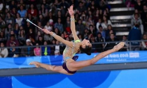 Казахстанские гимнастки взяли три медали на международном турнире в Венгрии