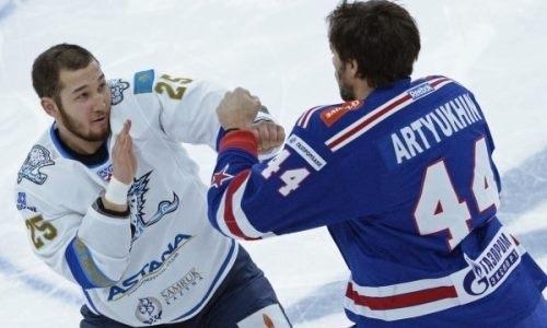Появилась информация об организации боя хоккеиста Дамира Рыспаева в Fight Nights Global