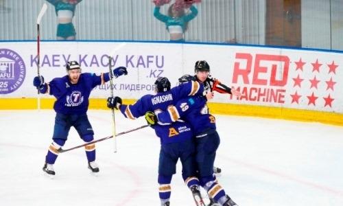 Дубль игрока сборной Казахстана принес «Торпедо» первую победу в плей-офф ВХЛ