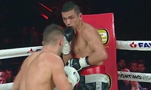 Узбекскому обидчику Садриддина Ахмедова нанесли первое поражение в карьере. Видео