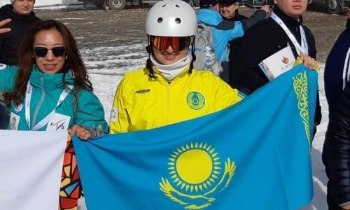 Казахстанская фристайлистка выиграла историческую медаль этапа Кубка мира