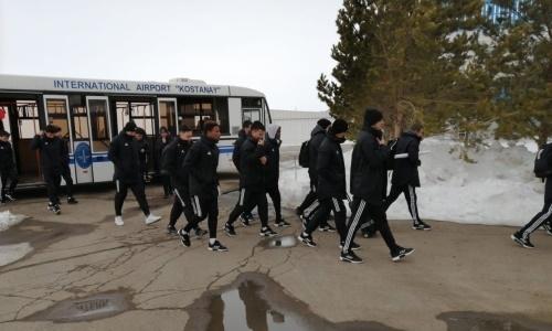 «Кайсар» прибыл в Костанай на матч за Суперкубок Казахстана-2020