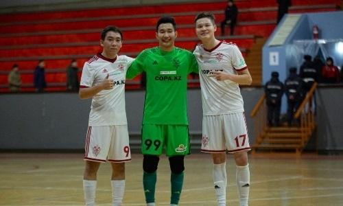 «Актобе» забил 11 мячей в ворота «Каспия» в матче чемпионата РК