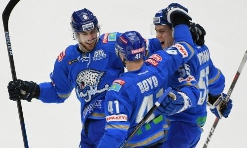 Тотальное уничтожение. «Барыс» грохнул магнитогорский «Металлург» в первом матче плей-офф КХЛ