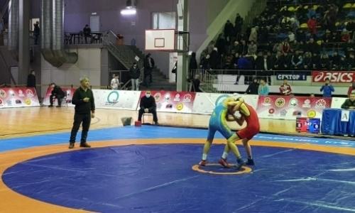 В Караганде проходит республиканский турнир по греко-римской борьбе
