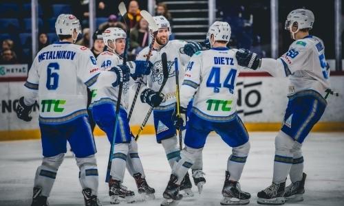 Опомнились. «Барыс» отыгрался и победил «Металлург» в третьем матче плей-офф КХЛ