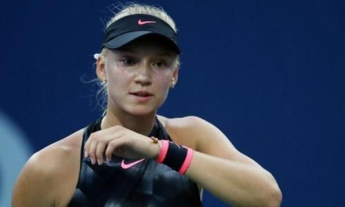 Министр назвал достижение казахстанской теннисистки историческим