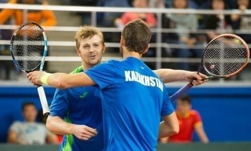 Казахстан вышел вперед в матче Кубка Дэвиса с Нидерландами