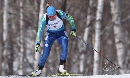 Казахстанские биатлонистки — 17-е в эстафете этапа Кубка мира в Нове-Место