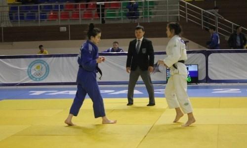 В Таразе завершился юношеский чемпионат Казахстана по дзюдо