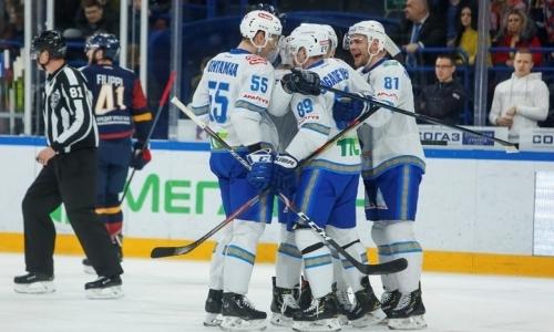 Не заметили соперника. «Барыс» легко победил «Металлург» и вышел во второй раунд плей-офф КХЛ