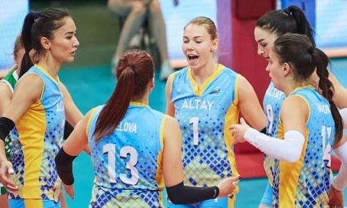 Подведены итоги четвертого тура чемпионата Казахстана среди женских команд Национальной лиги