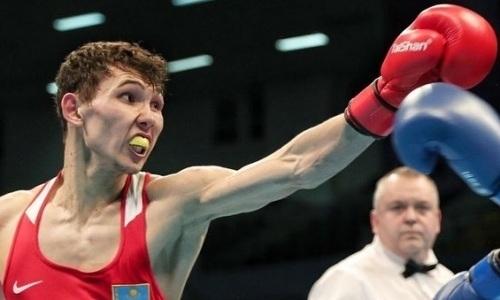 Видео боя с нокдауном, или Как казахстанский боксер устроил рубку с чемпионом мира из Узбекистана