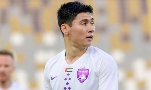 Официально. Бауыржан Исламхан после десяти матчей за «Аль-Айн» узнал плохие новости
