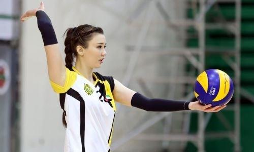 Вместо волейбола — баскетбол. Сабина Алтынбекова решила попробовать себя в другом виде спорта