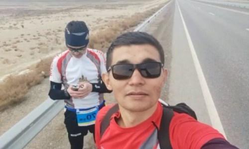 Спортсмены-любители из Мангистау устроили забег на 70 километров