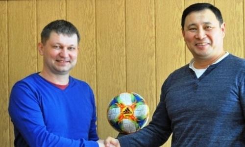 Российский специалист возглавил казахстанский клуб