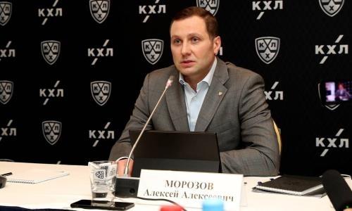 Президент КХЛ объяснил решение не продолжать сезон без «Барыса»
