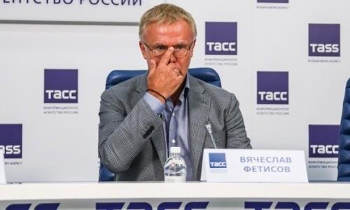 Вячеслав Фетисов считает, что у КХЛ не было шансов продолжить сезон после снятия «Барыса»